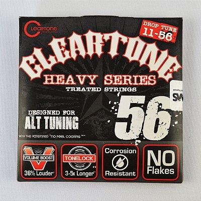 Encordoamento Guitarra Drop D 011-56 Monster Heavy - Cleartone