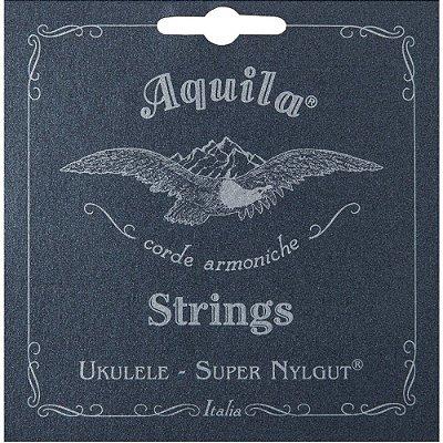 Encordoamento Ukulele Soprano Super Nylgut HIGH G AQ 100U SH - Aquila