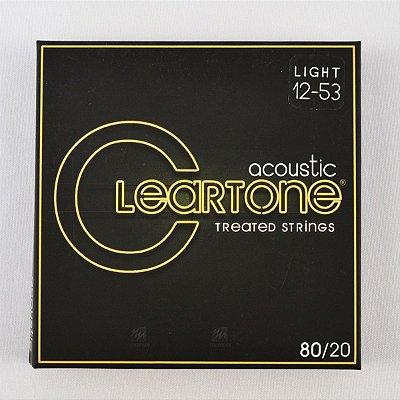 Encordoamento Violão 012-53 Bronze 80/20 Light - Cleartone