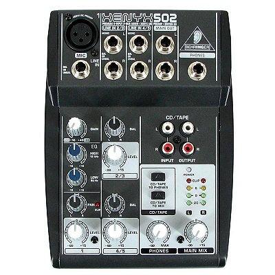 Mixer Mesa de Som Xenyx 502 - Behringer 0292