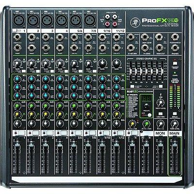 Mesa de Som 12 Canais PROFX12 V2 com Efeitos e Interface USB - Mackie