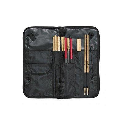 Bag para Baquetas Deluxe RB 22695 B 2 Bolsos - Rockbag