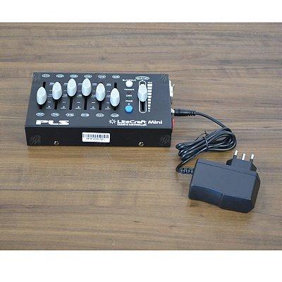Mesa DMX 12 Canais Litecraft Mini - PLS