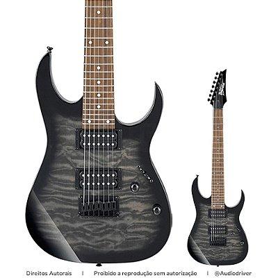 Guitarra Ibanez 7 Cordas GRG 7221QA TKS