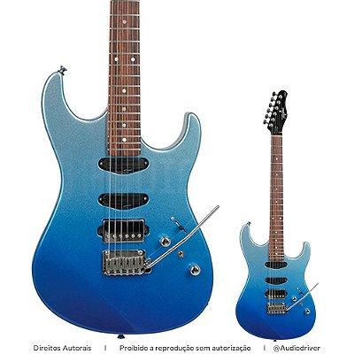 Guitarra Tagima Brasil STELLA H3 DF FMB Fade Metallic Blue