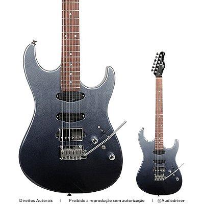 Guitarra Tagima Brasil STELLA H3 DF FMG Fade Metallic Grey