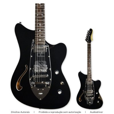 Guitarra Tagima Jet Blues Cosmos BK DF/BK Linha Brasil