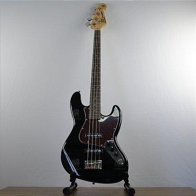 Baixo 4 Cordas SX Jazz Bass BD1 BK com Bag