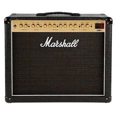 Amplificador Marshall DSL40CR-B Valvulado para Guitarra