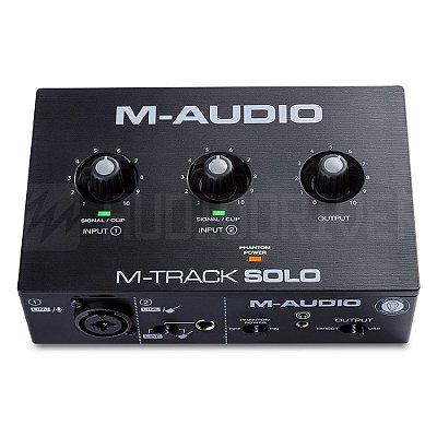 Interface de Áudio MTrack Solo MAudio 2 Canais