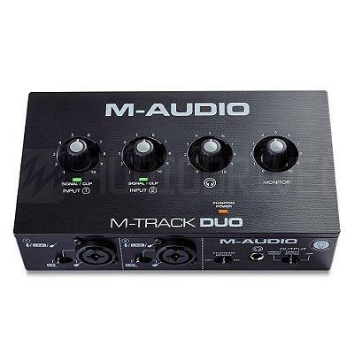 Interface de Audio MTrack Duo MAudio 2 Canais
