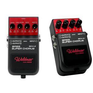 Pedal Waldman para Baixo Bass Super Chorus BCH-2