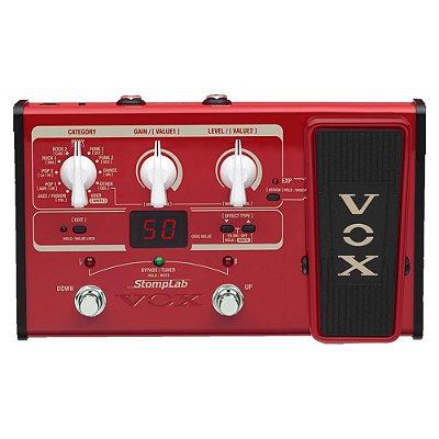 Pedaleira para Baixo Vox 2B Stomplab