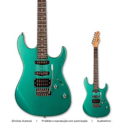 Guitarra  Tagima TG-510 MSG Super Strato Metallic Surf Green