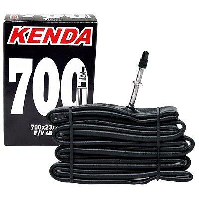 CÂMARA DE AR KENDA 700X23/25C - VÁLVULA PRESTA DE 48 MM