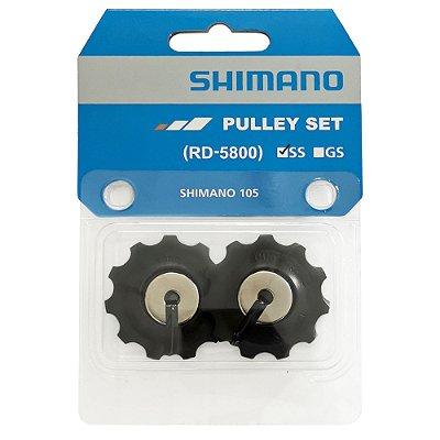 PAR DE ROLDANAS DE CÂMBIO SHIMANO 105 RD-5800-SS