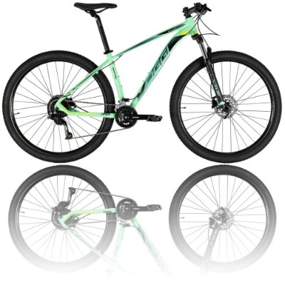 BICICLETA ARO 29 OGGI BIG WHEEL 7.0 2021 - TAMANHO 19 | VERDE E PRETA