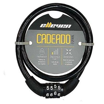 CADEADO ELLEVEN 65CMX8MMCOM SEGREDO