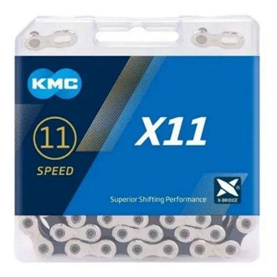 CORRENTE KMC X-11 118 LINKS PARA 11 VELOCIDADES