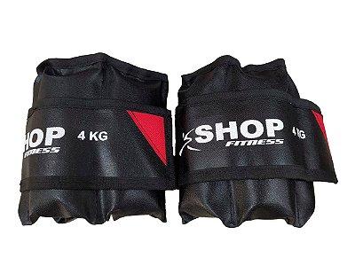 Tornozeleira 4Kg Par Shop Fitness