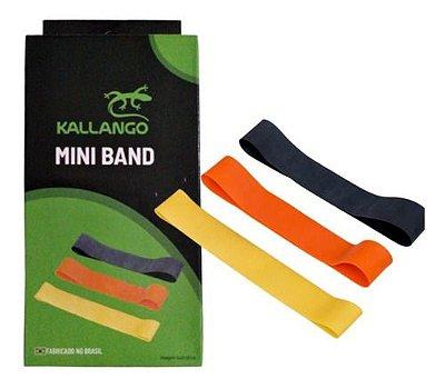 Kit Mini Bands c/ 3 intensidades