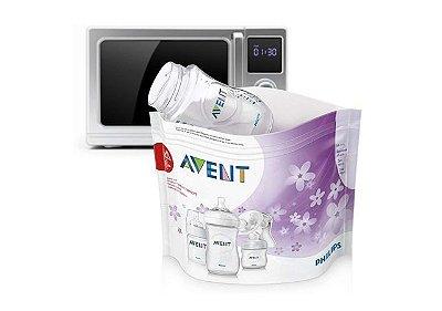 Sacos de Esterilização para Microondas - Philips Avent