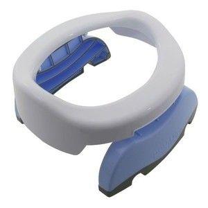 Potette Plus 2 em 1 - Privadinha Portátil e Redutor Sanitário - Lilás e Branco