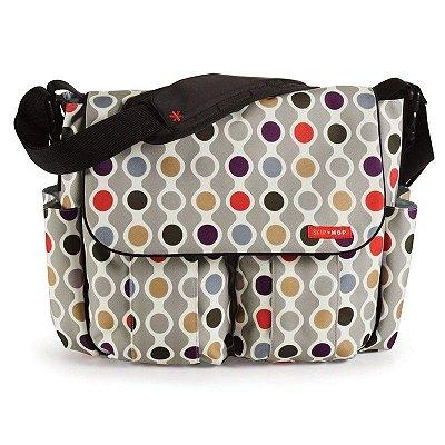 Bolsa Maternidade (Diaper Bag) com Trocador - Dash Signature Wave Dot - Skip Hop