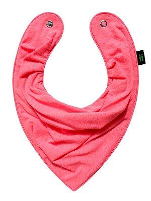 Babador Bandana Pink Flúor - Gumii