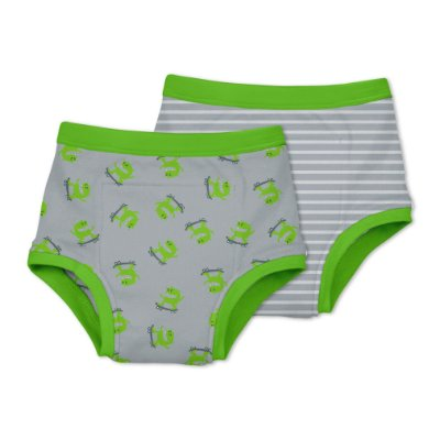 Kit Cuecas de Treinamento para Desfralde Monstrinhos - Green Sprouts