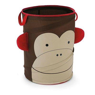 Organizador Cilíndrico para Brinquedos e Diversos Macaco - Skip Hop