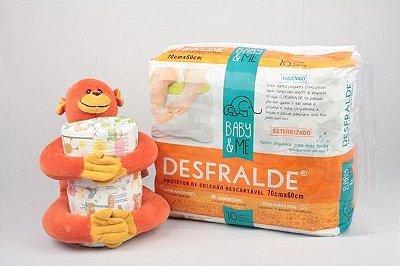 DESFRALDE - Protetor Descartável para Colchão Super Absorvente (10 unidades) - Baby & Me