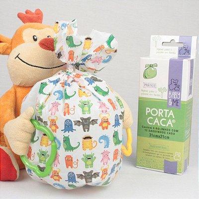 PORTA CACA - Saquinhos Higiênicos (48 unidades) - Baby & Me