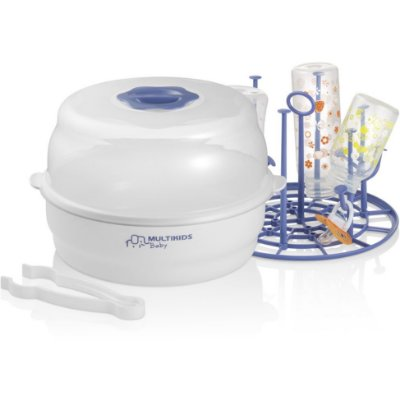 Esterilizador a Vapor de Microondas para Mamadeiras e Acessórios Clean & Dry - Multikids Baby