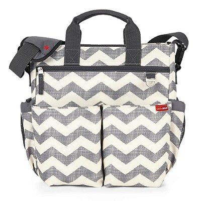 Bolsa Maternidade (Diaper Bag) com Trocador - Duo Signature Chevron - Skip Hop