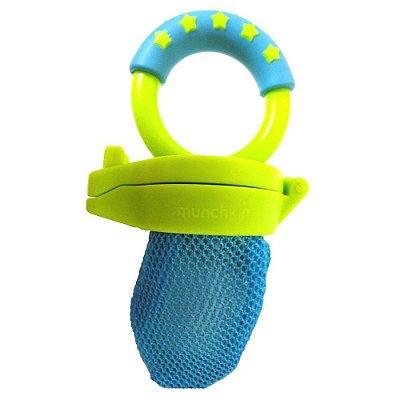 Alimentador para Bebês com Redinha Azul/Verde - Munchkin