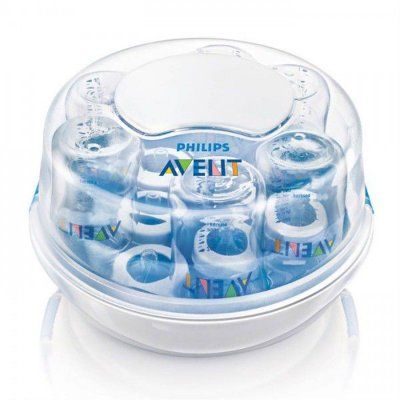 Esterilizador a Vapor de Microondas para Mamadeiras e Acessórios - Philips Avent