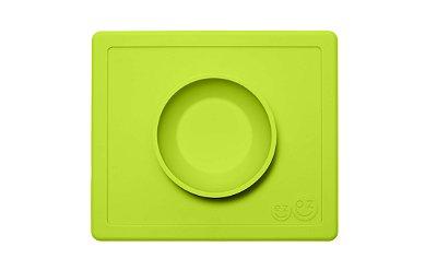 Jogo Americano com Tigela Acoplada Happy Bowl Verde - EZPZ