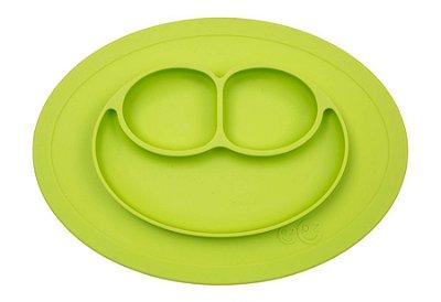 Jogo Americano com Prato Acoplado Mini Happy Mat Verde - EZPZ