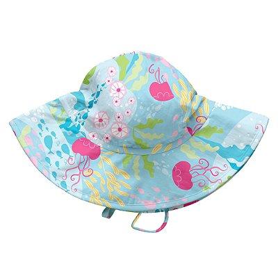 Chapéu de Banho Infantil com FPS +50 Aqua Coral - iPlay