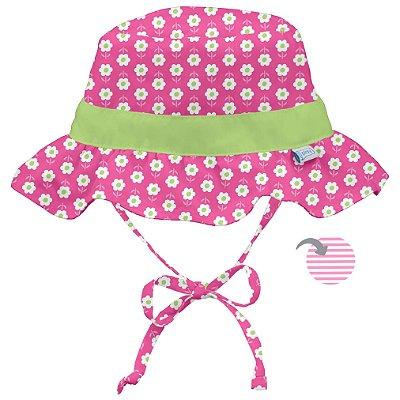 Chapéu de Banho Infantil com FPS +50 Margarida Rosa - iPlay