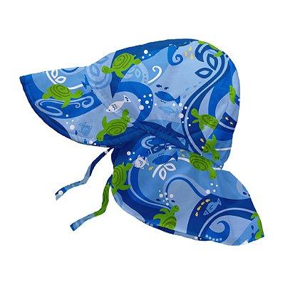 Chapéu de Banho Infantil Australiano com FPS +50 Praia do Forte - iPlay