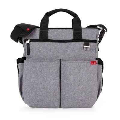 Bolsa Maternidade Duo Signature Heather Grey - Skip Hop