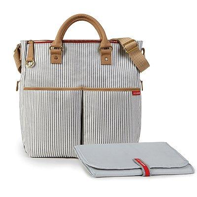 Bolsa Maternidade (Diaper Bag) com Trocador - Duo Edição Especial French Stripe - Skip Hop
