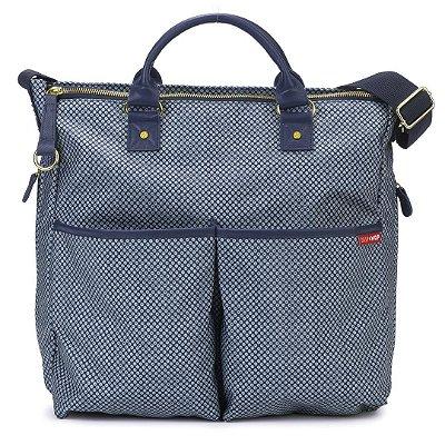 Bolsa Maternidade (Diaper Bag) com Trocador - Duo Edição Especial Blue Pinpoint - Skip Hop