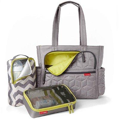 Bolsa Maternidade (Diaper Bag) com Trocador - Forma Pack & Go Grey - Skip Hop