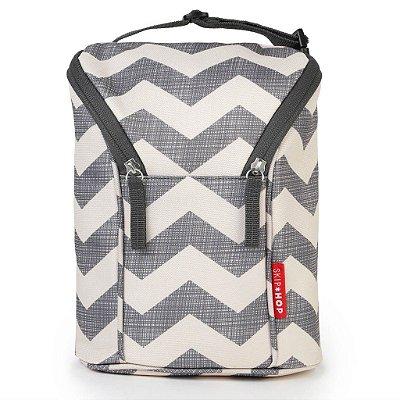Bolsa Térmica para Mamadeira - Double Bottle Bag (On the Go) Chevron - Skip Hop