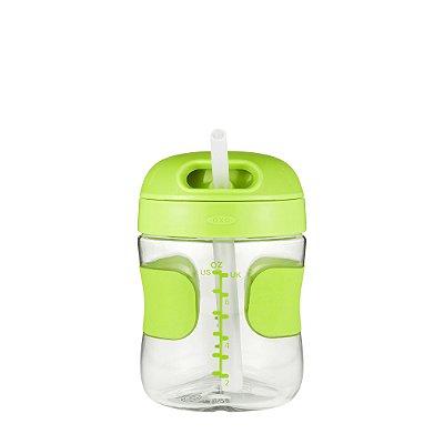Copo Infantil com Canudo Anti Vazamento 210ml - Verde - Oxo Tot