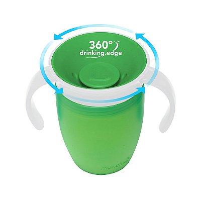 Copo de Treinamento 360 (Miracle Cup) Verde - Munchkin