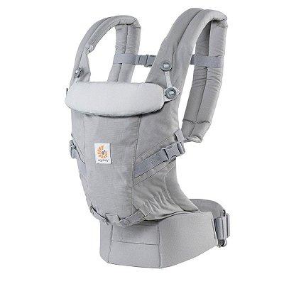 Canguru Ergobaby Adapt - O Melhor Baby Carrier para o seu Bebê - Pearl Grey